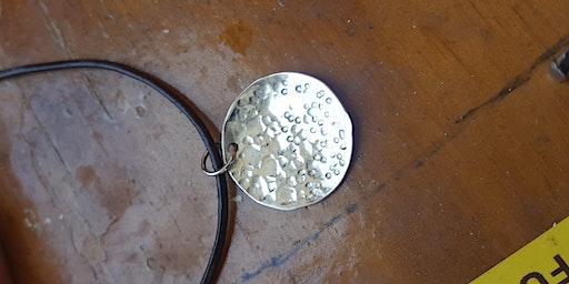 2020 Silversmithing: Make a Pendant or earrings