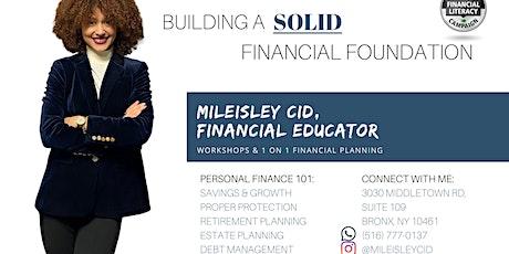 Workshops: Personal Finance & Entrepreneurship tickets
