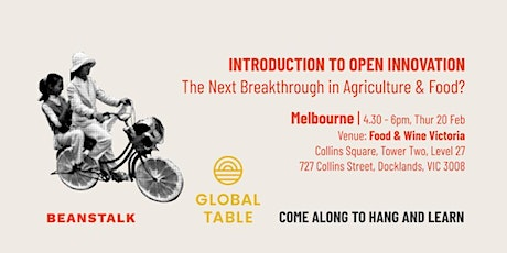 Intro to Open Innovation: The Next Breakthrough in Agriculture & Food? tickets