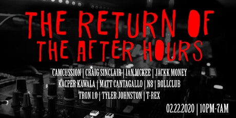 The Return Of The After Hours tickets