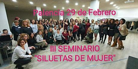 "III SEMINARIO ""SILUETAS DE MUJER"" entradas"