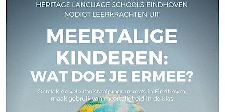 Symposium HLSE: Meertalige kinderen: wat doe je er mee? tickets
