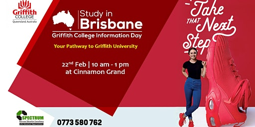 Study in Brisbane -  Griffith College Admission Day