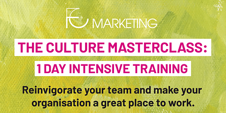 THE CULTURE MASTERCLASS: Newcastle 1 Day Intensive Training tickets