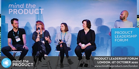 Mind the Product London 2020 Leadership Forum tickets