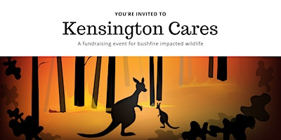 Kensington cares - wildlife bushfire fundraiser