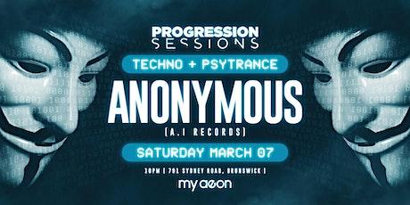 Prog sesh presents anonymous tickets