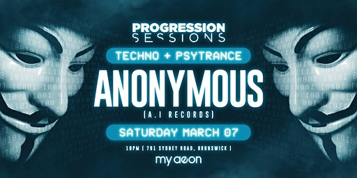 Prog sesh presents anonymous
