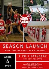 North Footscray Football & Netball Club Season Launch 2020 tickets