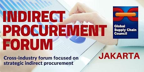 Indirect Procurement Forum (Jakarta) tickets