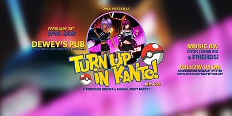 OWA Presents' Turn Up in Kanto: New York tickets