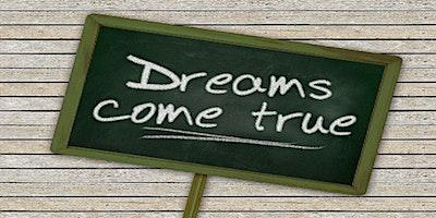 Dreams Can Come True Vision Boarding