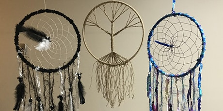 Make your own dreamcatcher, with a natural crystal of your choice! tickets