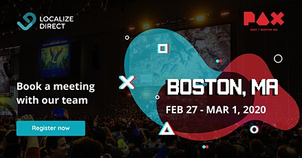 Game Localization Consulting at PAX East tickets