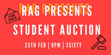 RAG Presents: Student Auction tickets