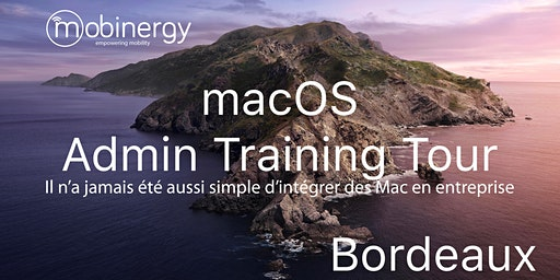 MacOS Admin Training Tour - Bordeaux