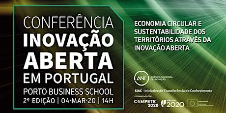 """Conferência """"Inovação Aberta em Portugal"""" bilhetes"""