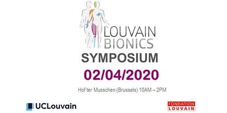 Louvain Bionics Symposium 2020 tickets