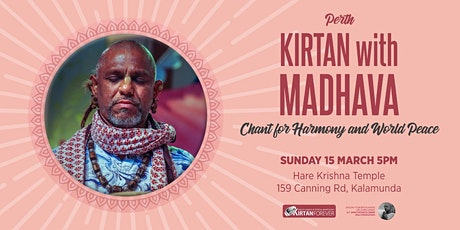 Kirtan with Madhava - Chant for World Peace & Harmony tickets