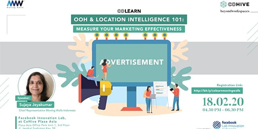 COLEARN OOH & Location Intelligence 101: Measure Your Marketing Effectiveness