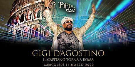 Piper Club - Gigi D'Agostino - Mercoledi 11 Marzo 2020 biglietti
