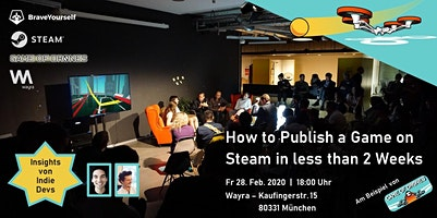 How to Publish a Game on Steam in less than 2 Weeks