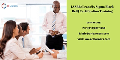 LSSBB Certification Training in Amador City, CA, USA