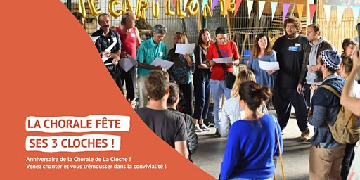 La Chorale de La Cloche fête ses 3 ans !