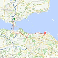 Story on Bikes Leg 7 Inverkeithing-Edinburgh