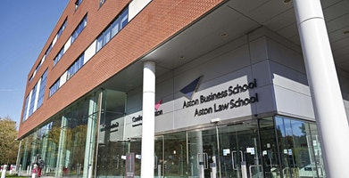 Aston University Business School Lecture @ INTO Manchester