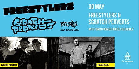 Freestylers and Scratch Perverts tickets
