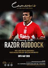 An Evening with Razor Ruddock tickets
