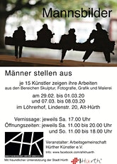 """Neue Talente Ausstellung """"Mannsbilder-Männer stellen aus"""" Tickets"""