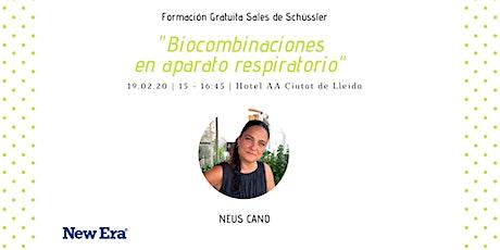 Sales de Schüssler:  Biocombinaciones en el aparato respiratorio entradas