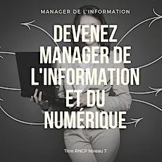 """Petit déjeuner """"Manager de l'Information Numérique"""" le jeudi 5 mars 2020 billets"""