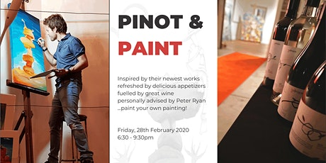 Pinot & Paint Art Night tickets