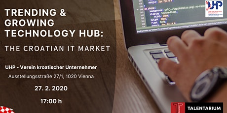 Trending and Growing Technology HUB:  The Croatian IT market tickets