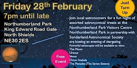Stargazing at Northumberland park tickets