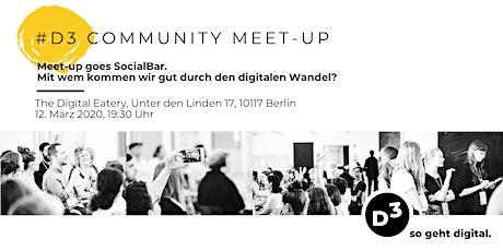 #6  D3 - Community Meet-Up Tickets