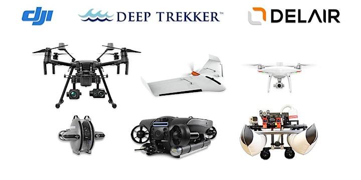 Image pour Démonstrations drones à Brest - Outils techniques, enjeux et utilisations