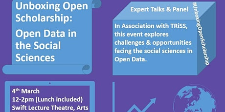Open Data in the Social Sciences tickets