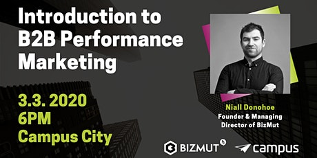 Introduction to B2B Performance Marketing tickets
