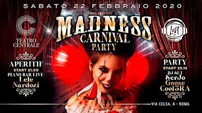 Carnival Party - Teatro Centrale - Sabato 22 Febbraio 2020 biglietti