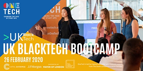 OneTech Bootcamp - Powered by UK Black Tech tickets