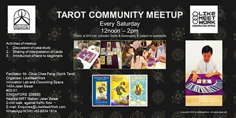 Tarot Community Meetup tickets