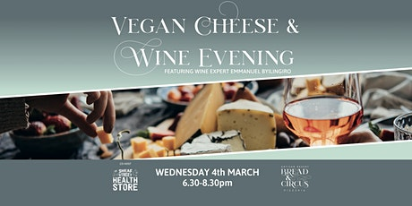 Vegan Cheese & Wine Evening  tickets