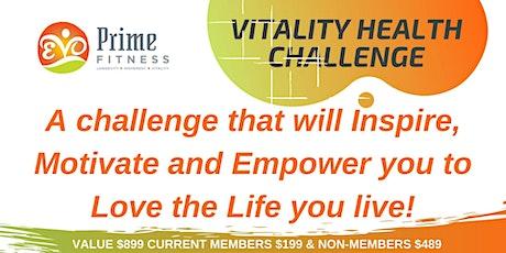 Vitality Health Challenge - 4 Weeks tickets