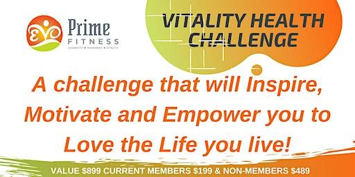 Vitality Health Challenge - 4 Weeks