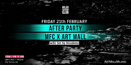 BASHAQUES AFTER PARTY MFC X ART MALL | Milan Fashion Week biglietti