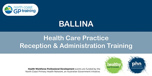 Ballina: Health Care Practice Reception & Administration Training
